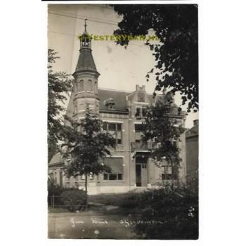 sGravenmoer ca. 1915 - fotokaart gemeentehuis