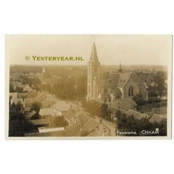 Chaam ca. 1920 - fotokaart panorama