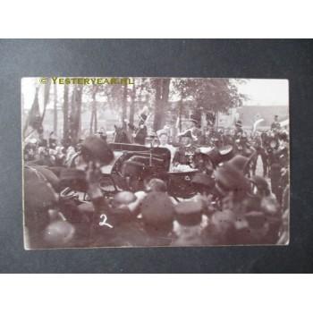 Vught 1906 - fotokaart koninklijk bezoek