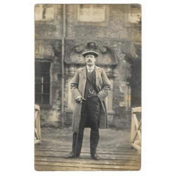 Gemert 1918 - fotokaart portret van een man