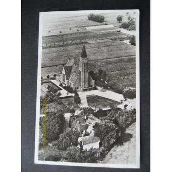 Den Haag 1950 - Immanuelkerk - luchtfoto