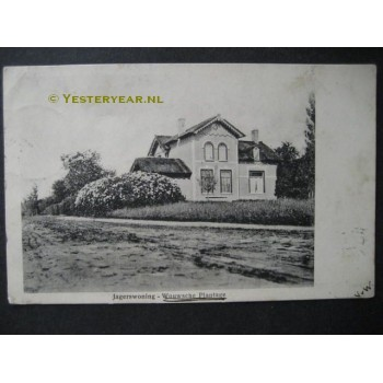 Wouwse Plantage 1904 - jagerswoning