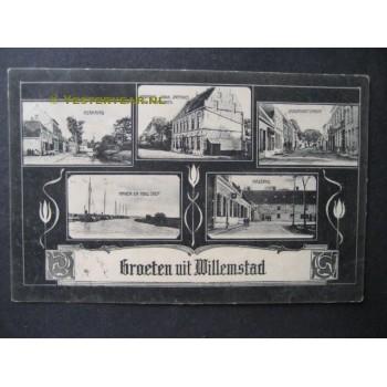 Willemstad 1907 - groeten uit - (5 afb.)