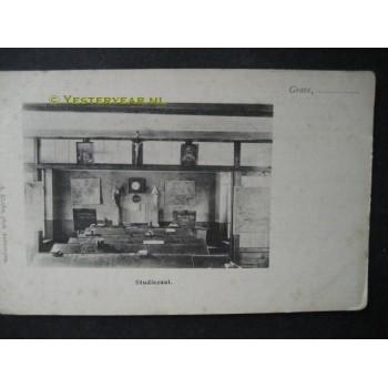 Grave 1905 - studiezaal - kweekschool