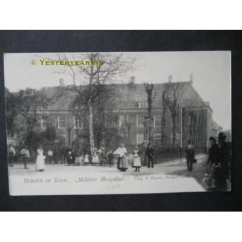 Bergen op Zoom ca. 1900 - Militair Hospitaal