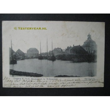 Willemstad 1903 - Havenzicht