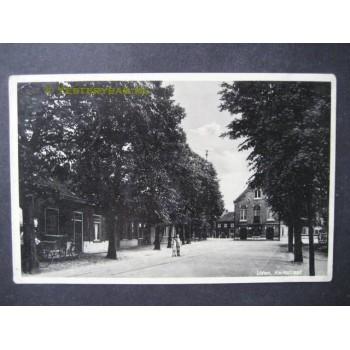 Uden 1943 - Kerkstraat - met raadhuis