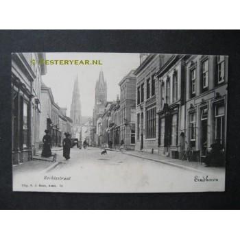 Eindhoven ca. 1910 - Rechtestraat