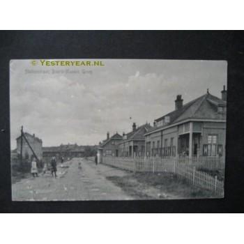 Baarle Nassau 1917 - Stationsstraat - grens