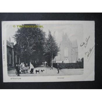 Stratum 1904 - Kerkstraat met kerk