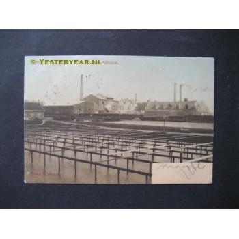Bergen op Zoom 1905 - oeterput en fabrieken