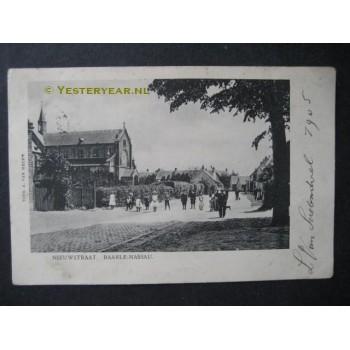 Baarle Nassau 1905 - Nieuwstraat- en kerk