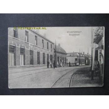 Stampersgat 1930 - Dorpsstraat met hotel