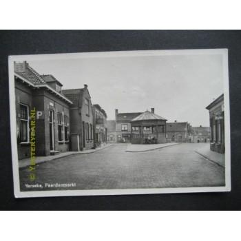 Yerseke 1955 - Paardenmarkt - kiosk