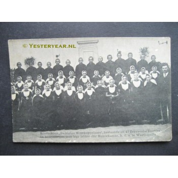 Westkapelle ca. 1915 - kinderkoor