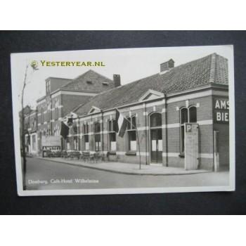 Domburg 1955 - cafe hotel Wilhelmina