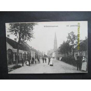 Sint Jansteen 1915 - Wilhelminastraat - kerk