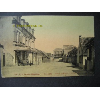 Domburg 1905 - Hotel L'Europe