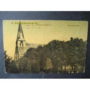 Oud-Vossemeer 1905 - groeten uit - Herv.Kerk