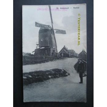 Sint Annaland 1910 - molen