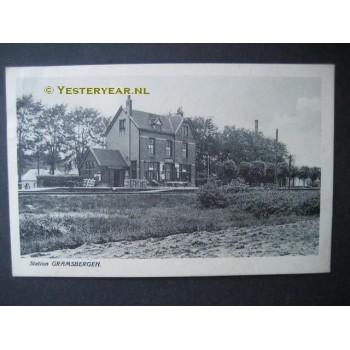 Gramsbergen 1930 - station - (gem.Hardenberg)