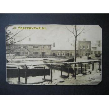 Middelburg ca. 1930 - woningen - fotokaart
