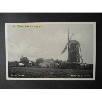 Garderen 1935 - molen - op de Veluwe