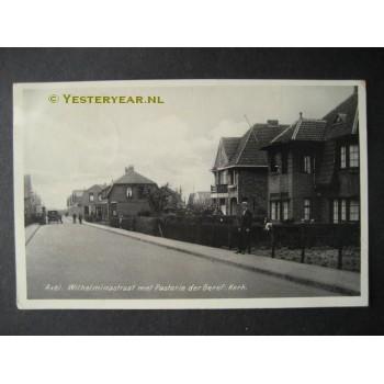 Axel 1930 - Wilhelminastraat-kerk-pastorie