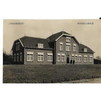 Wemeldinge 1915 - Vredebest - fotokaart
