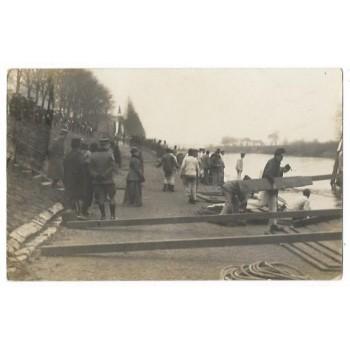 Engelen 1915 - Koninklijk bezoek - fotokaart