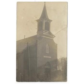 Rijswijk 1915 - N.Br. - Kerk - fotokaart