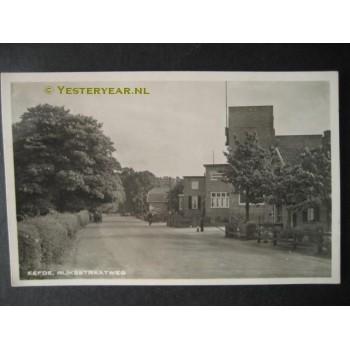 Eefde 1950 - Rijksstraatweg - fotokaart