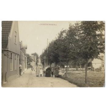 Oosthuizen 1916 - dorpsstraat - fotokaart