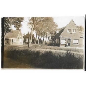 Oostwold 1916 - dorpsgezicht - fotokaart