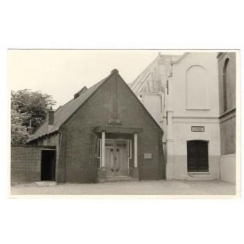 Mijdrecht ca. 1950 - Wijkgebouw Irene + Herv.Kerk - foto