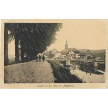 Maastricht 1916 - gezicht op St.Pieter