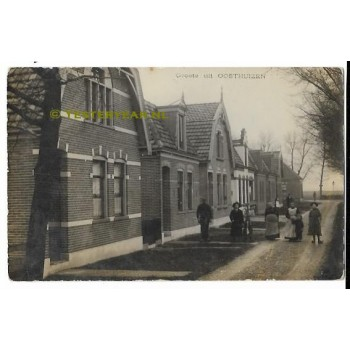 Oosthuizen 1915 - groete uit - fotokaart