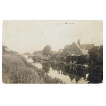 Oosthuizen 1914 - brug gracht - fotokaart