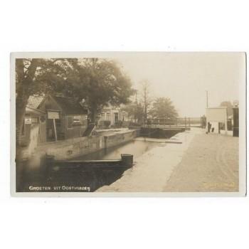 Oosthuizen 1930 - groeten - kanaal - fotokaart