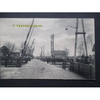 Den Dolder ca. 1915 - Doldersche Weg - spoorovergang