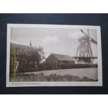 Sint Maartensdijk 1921 - molen