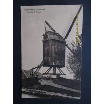 Groenendijk Hontenisse ca. 1920 - molen