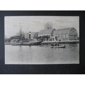 Haarlemmermeer ca. 1905 - Station Koffiehuis -