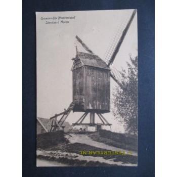 Groenendijk Hontenisse ca. 1925 - Standaard molen
