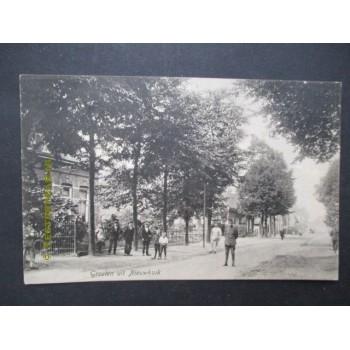 Nieuwkuijk 1916 - groeten uit - Nieuwkuijksestraat