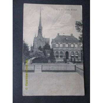 Elshout 1919 - kerk en pastorie