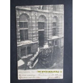 Heusden 1904 - koninklijk bezoek