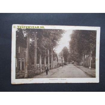 Drunen 1915 - Dorpsstraat -