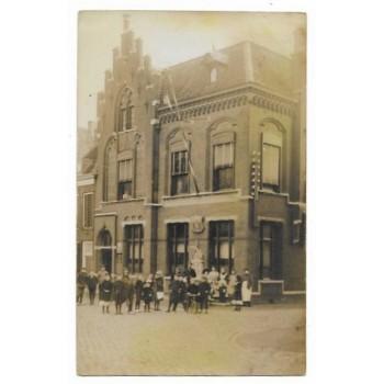 heusden 1911 - Botermarkt - fotokaart
