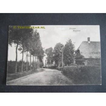 Drunen 1917 - Wolfshoek met molen